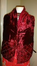 BEAUTIFUL SCARF FROM ACCESSORIZE BURGUNDY COLOUR EMBROIDERED & BEADED
