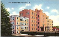 Manchester, New Hampshire, Sacred Heart Hospital - Postcard (B2)