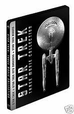 Star Trek Trilogy (Blu-ray Region-Free, 3 Discs)~~~~STEELBOOK~~~~NEW & SEALED