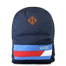 VANS Old Skool II Backpack Dress Blues/Racing Red School Bag VONIJCG FREE HARIBO