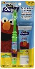 3 Pack - Baby Orajel Tooth & Gum Cleanser Bright Banana Apple 1oz Each