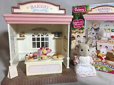 Calico critters/sylvanian families Bakery With Waitress & Box