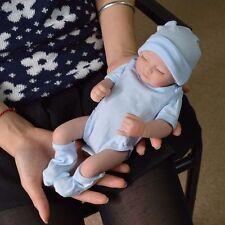 Handgemachte Neugeborene Baby Realistische Reborn Puppen Vinyl Silikon Junge Boy