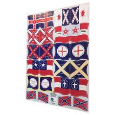 Banderas guerra civil USA civil war flags/flaggen-Playmobil Stickers/Aufkleber