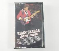 Live in London by Ricky Skaggs (Cassette, Jul-2003, S & P Records) OOP Sealed