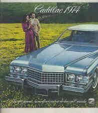 1974 Cadillac Fleetwood Eldorado DeVille Calais Brochure French Canada my3073