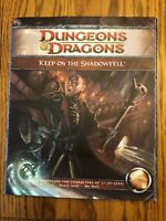 NEW!  Keep on the Shadowfell Dungeons & Dragons 4th Edition Module H1