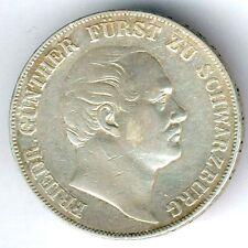 Schwarzburg-Rudolstadt Friedrich Günther (1807-1867) Vereinstaler 1859 AKS 12