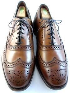 """NEW Allen Edmonds  """"MCALLISTER"""" Men's Wingtip Oxfords 11.5 EEE Walnut (659)"""