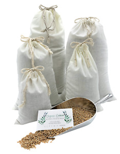Einkorn Wheat Berries and Flour