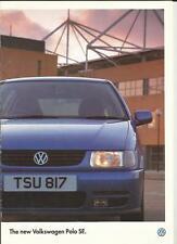 VW VOLKSWAGEN POLO SE 1.4  SALES BROCHURE MARCH 1996