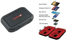 Sandisk CF Compact Flash XD MMC Memory Card Case Holder
