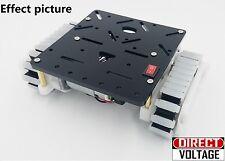 2pcs 12V 86 RPM DC Geared Motor Crawler + Smart Car Chassis Platform DIY Kit