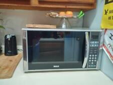 Rca 1.1 cu. ft. Countertop Microwave in Stainless Steel Model Rmw1138