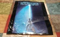 "VTG ""Return of the Jedi"" original 1983 Star Wars collectible poster 14 x 11 READ"