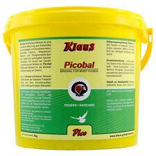 Klaus Picobal Brieftauben 5 kg Tauben Taube Mineral Geflügel Mineralstoff Grit