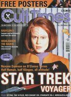Cult Times  #39 Dec.1998 Roxann Dawson (Star trek Voyager) X-Files unread MBX110