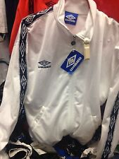 UMBRO PRO TRAINING JACKET SMALL mens at £14 rrp £39.99 POLYESTER white