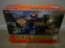 Lionel 6-30034 Great Western Train Set with Lincoln Logs RTR O-Scale Pre-Owned