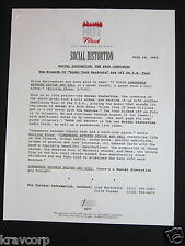 SOCIAL DISTORTION—1992 PRESS RELEASE