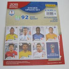 Panini FIFA WM 2018 Russia Sticker - Update Set Multipack mit 92 neuen Spielern