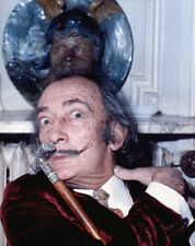 Salvador Dali UNSIGNED photograph - L1906 - Maurice Hotel Paris, 1972