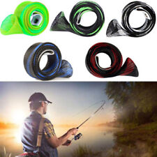 Casting Fishing Rod Sleeve Cover Expandable Pole Bag Tube Protector Hot