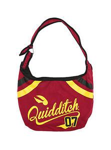 Harry Potter Quidditch Game 07 Varsity School Hobo Tote Bag School Purse NEW