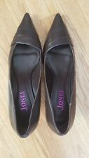 NIB WOMENS JONES BOOTMAKER LEATHER COURT SHOES SIZE 40