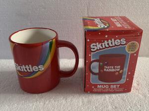 NEW Retro SKITTLES Candy TASTE THE RAINBOW 11oz Mug