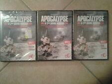 9150 // APOCALYPSE LA SECONDE 2EME GUERRE MONDIALE 3 DVD NEUF DUREE 16H00