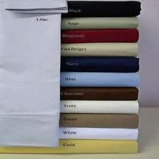 1000 Thread Count 100%Egyptian Cotton Australian Sizes 3 PCs Fitted Sheet Set