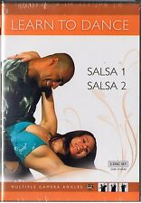 Learn to Dance - Salsa (DVD, 2009, 2-Disc Set) Elder Sanchez