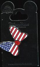 2015 Minnie Mouse Bow Usa American Flag Disney Pin 109454