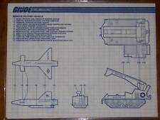 Storm Blaster /& Scrambler Inst. Shade G.I Joe 1988 TRU Night Striker Raider