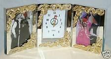 1-Tri-Fold Clock~Photo Storage 3.5 x 5 Photo Size
