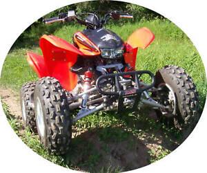 Honda TRX 300EX, 300X A-arms & Shocks ATV Widening Kit