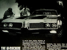 1969 Oldsmobile 442/Olds W32 Print Ad-poster/photo/picture-s /400 v8 engine/1968