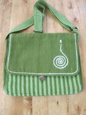 Southwestern Cotton Canvas APPLE GREEN Sling Bag