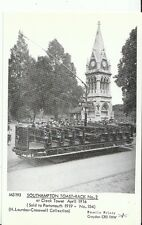 Hampshire Postcard - Southampton Toast-Rack No.2 at Clock Tower in 1916 - U856