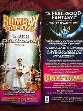 Bombay Dreams ad/flyer Broadway NYC Andrew Lloyd Webber AR Rahman