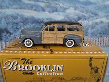1/43 Brooklin models (England) 1947 FORD V-8 STATION WAGON  BRK 83 White metal