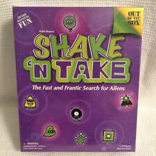 Shake 'N Take Board Game Fast and Frantic Search for Aliens (new sealed box)!