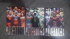 Justice by Alex Ross Vol #1 2 3 HC Hardcover Lot Batman Superman Wonder Woman DC