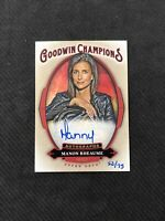 2020 UPPER DECK GOODWIN CHAMPIONS MANON RHEAUME AUTO INSCRIPTIONS #ed 52/75