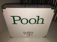 POOH TUTTO IN 3 CD RARO BOX TRIPLO CD FUORI CATALOGO SIGILLATO