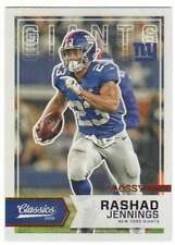 2016 Panini Classics Glossy Bronze Foil #68 Rashad Jennings NY Giants