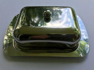 Butterdose Edelstahl rostfrei für 250 g Butterstücke