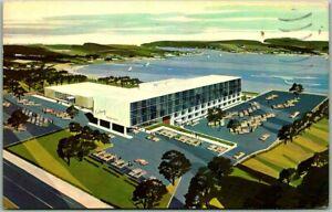 Cranston, Rhode Island Postcard COLONY MOTOR INN Artist's View / 1968 Cancel