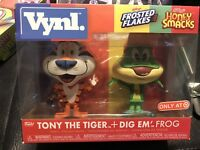 Funko Vynl Tony the Tiger + Dig Em Frog Ad Icons Target Exclusive In Hand